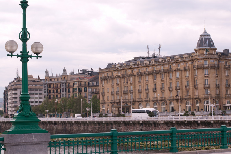 The Hotel Maria Cristina in San Sebastian, Spain
