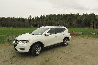 Our 2017 Nissan Rogue, sept 2018