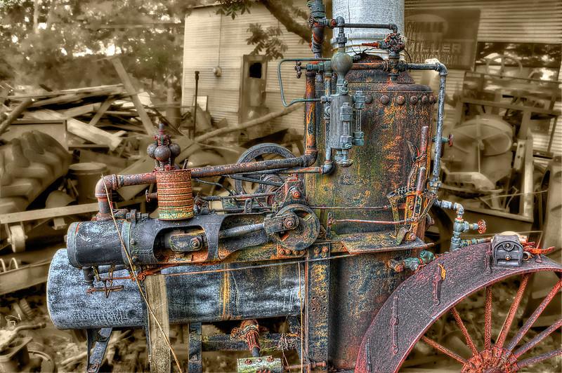A personal steam engine circa 1890