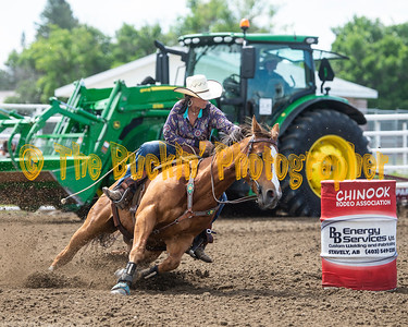 Raymond Slack 2019 Ladies Barrel Racing #41 to end