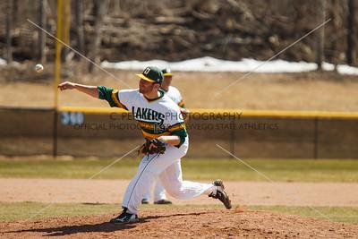 Baseball vs Oneonta 4-12-15