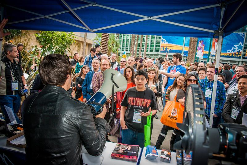 2014_01_24, Anaheim, CA, Anaheim Convention Center, NAMM, Matthew Reich