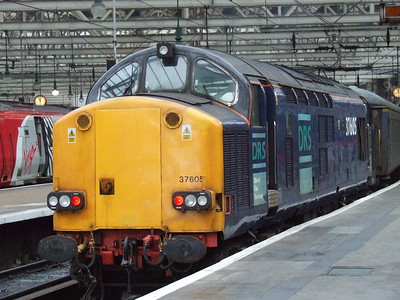 DRS Class 37605 and 37611 on New Measurement Train, 31st January 2007