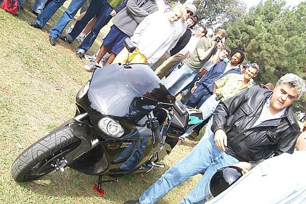 Jay Leno & his turbine powered superbike