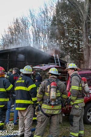 Structure Fire - 144 Main St, South Salem, NY - 1/13/18