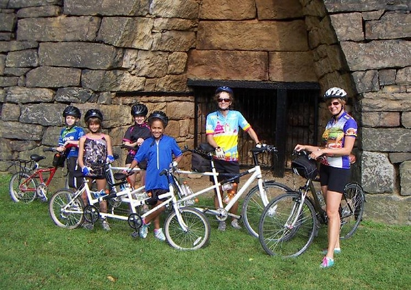 Stopping at the Eliza Furnace