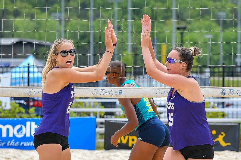 4/19/19 TCU Beach Volleyball