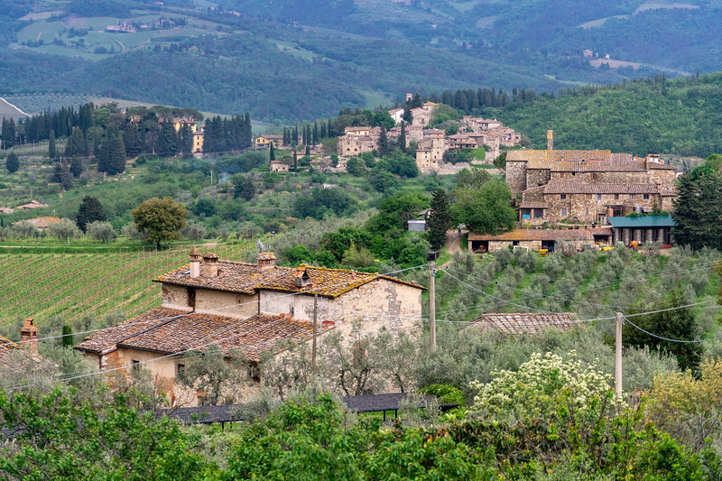 Near Greve-in-Chianti
