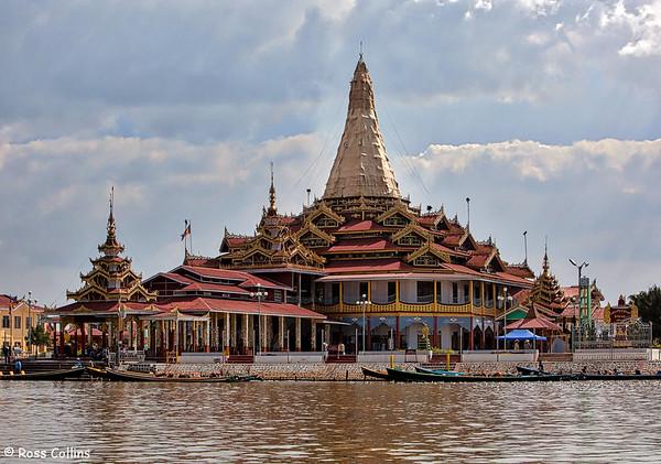 Phaung Daw Oo Pagoda, Inle Lake