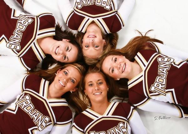 Webster County 2009 Senior Cheerleaders