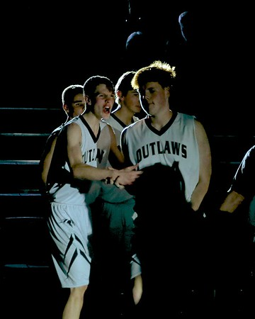 Outlaw Boys Basketball vs Elmira 1 -27-2017