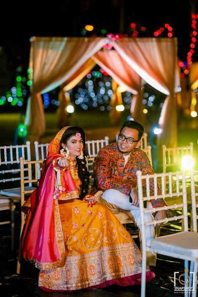 Pritey & Shajib Joint Holud