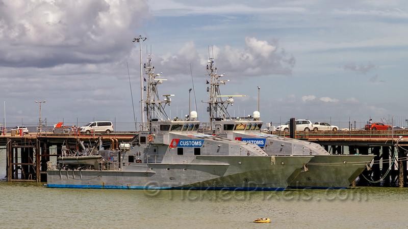 Bay-class Patrol Boat Hervey Bay (ACV 40)