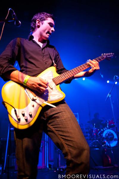 Alexander Shultz of Oceana performs on November 26, 2010 at The Ritz in Ybor City, Tampa, Florida