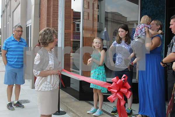 Coi's Closet Ribbon Cutting - July 2015