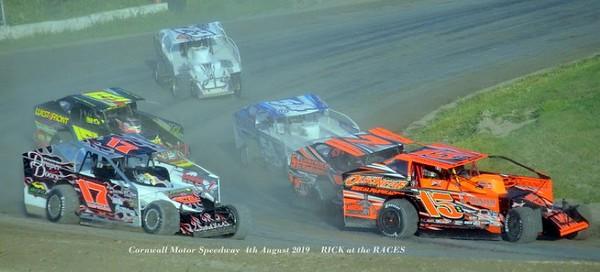 Cornwall Motor Speedway - CDN Nationals - 8/4/19 - Rick Young