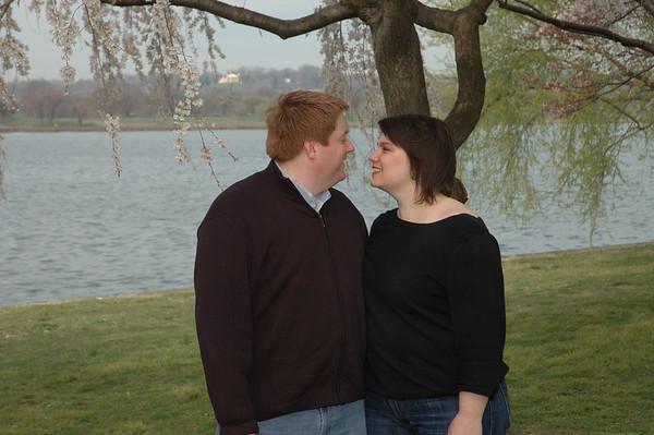 Nicole & Brent Cherry Blossoms 3-2008