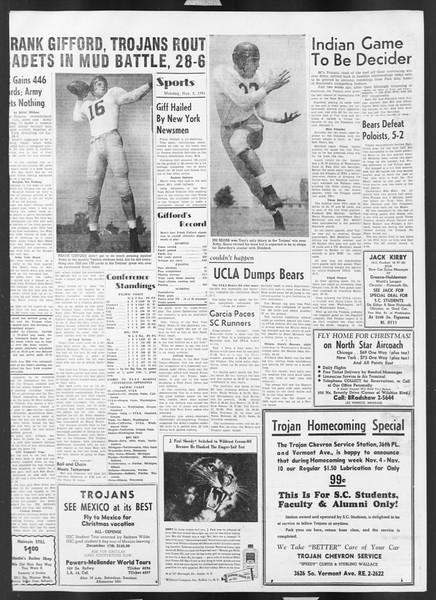 Daily Trojan, Vol. 43, No. 35, November 05, 1951
