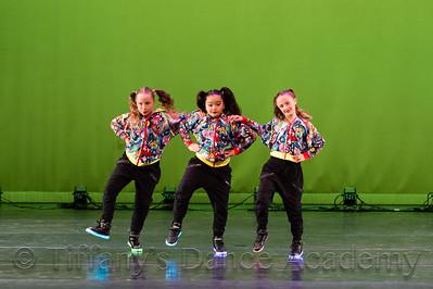 Lol Hip Hop Trio - Summer B., Kylie F., and Sloan H.