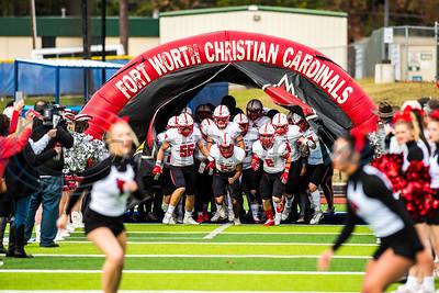 Grace Community School Football vs Fort Worth Christian School - PLAYOFFS by Melanie Johnson