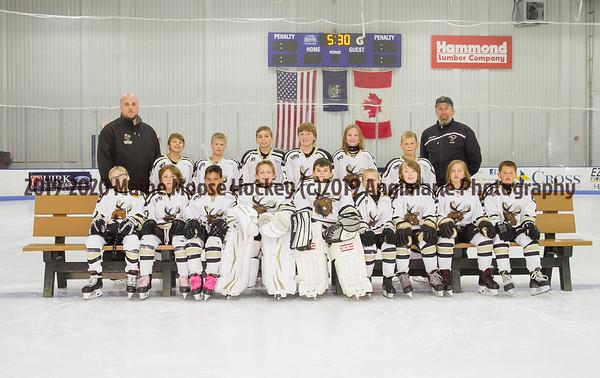 2019-20 Maine Moose Hockey  10U