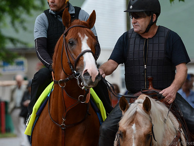 Justify Preps for Belmont