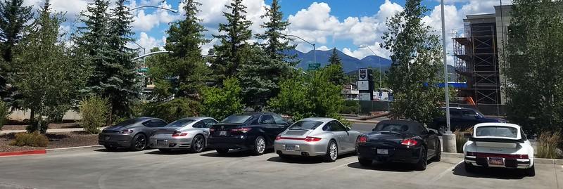 5 Nice Porsches and one Interloper.jpg