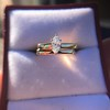 0.36ct Vintage Marquise Wedding Set 26