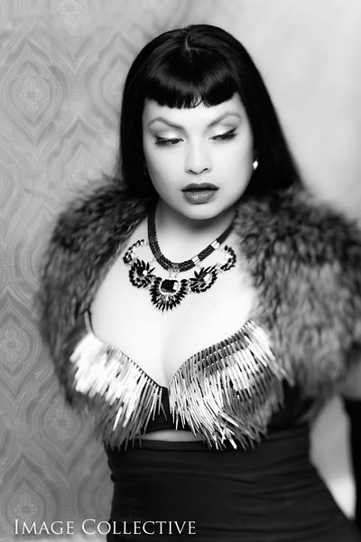 Goth Pin-up Chola Sio - Film Noir