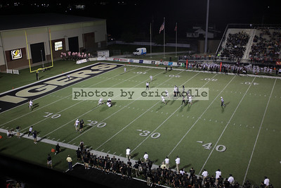 Siloam Springs Panthers at Bentonville Tigers Football - 09/28/2012