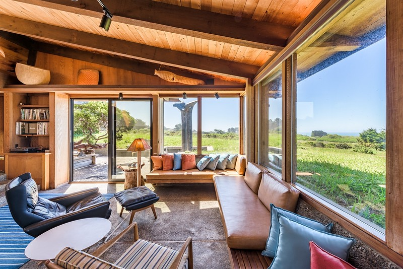 Living Room with Built in Window Seat