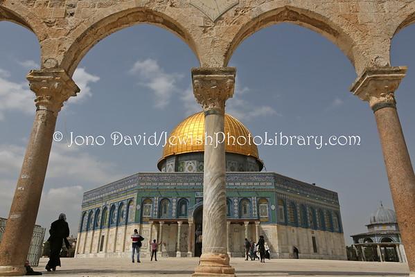 ISRAEL, Jerusalem, Old City. Temple Mount (3.2015)
