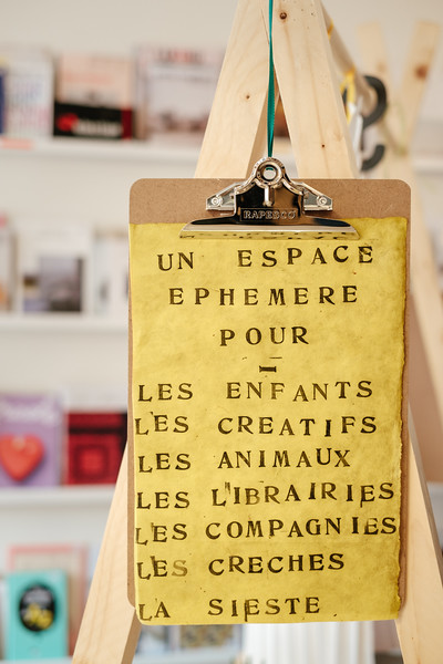 La Superette bookstore in Chexbres