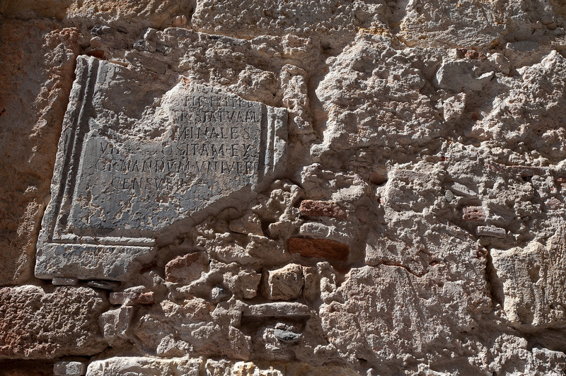 The Roman Ampitheater ruins in Tarragona, Spain