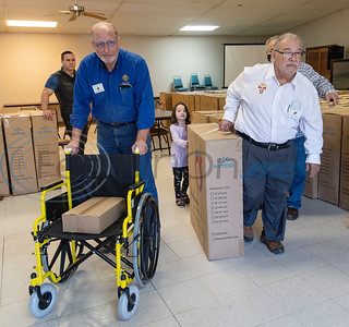 Knights of Columbus Wheelchair Donation & Blessing by Sarah A. Miller