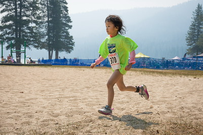 Donner Lake Kids Tri Run