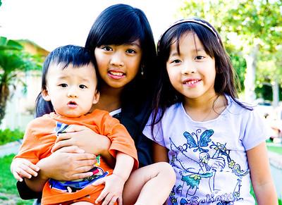 Ariya, Caleb, Eliana, & Nathan: July  29, 2013