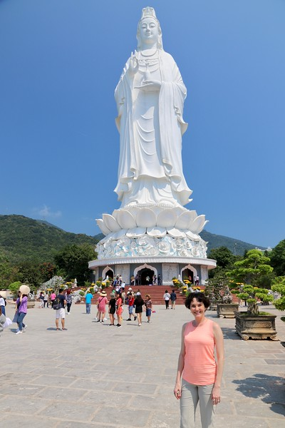 Lady Buddha at Linh Ung Pagoda - She is the tallest Buddha statue in Vietnam