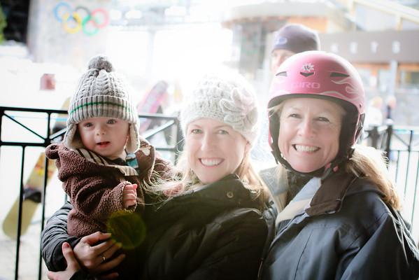 Squaw Valley Family Fun - Jan 2012