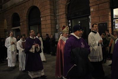 2015/12/13 Apertura della porta del Duomo di Foligno