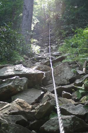 Cane Creek Falls CABLE TRAIL