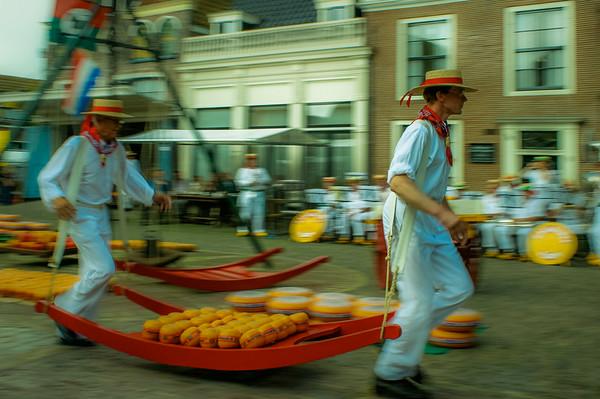 2003 & 2004 : Edam Kaasmarkt (Cheesemarkt) Re-Enactment