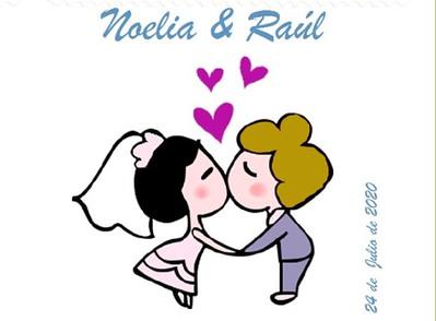 Noelia y Raul