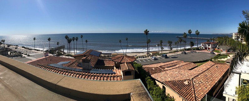 Our winter has been nearly perfect this year in San Clemente.