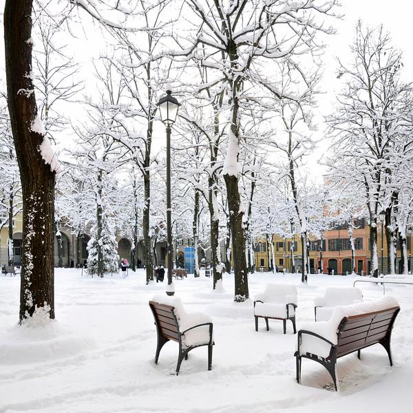 Piazza Fontanesi - Reggio Emilia, Italy December 19, 2009