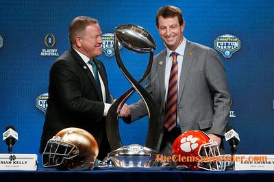 2018 Cotton Bowl - Head Coach PC Dec. 28