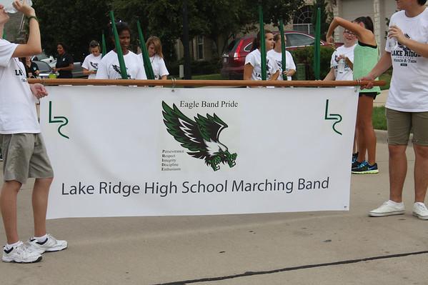 Lake Ridge High School Band March