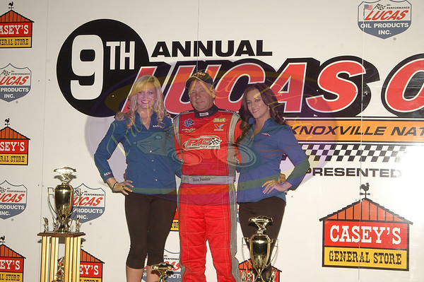 Late Model Nationals - Driver Introductions - September 29, 2012
