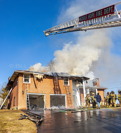 Residential structure Fire - 109 Bennett Rd. - Middle Hope Fire District - 2/21/20