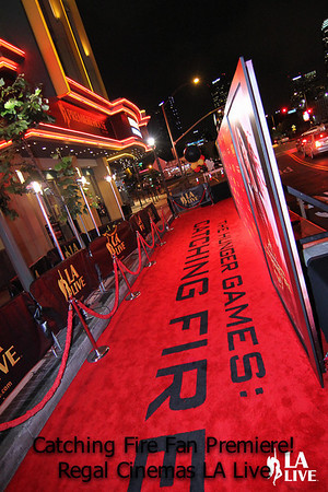 Regal 'Catching Fire' Red Carpet 20131120